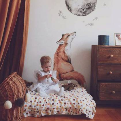 Mr. Fox Wallsticker