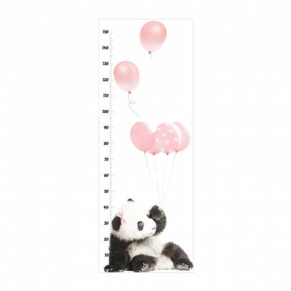 Panda Growth Chart Wallsticker