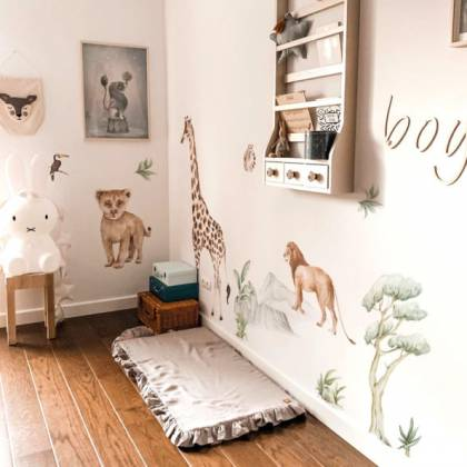 Savanna Botanics Wallsticker