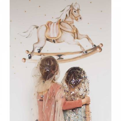 Rocking-horse Wallsticker