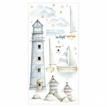Porticello By Night Wallsticker