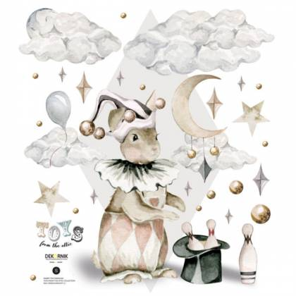 Rabbit the Magician Wallsticker