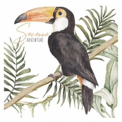 Toucan Savanna Wallsticker