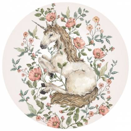 Unicorn Circle Wallsticker