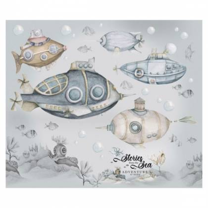Submarines Wallsticker