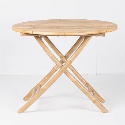 Bamboo dining table