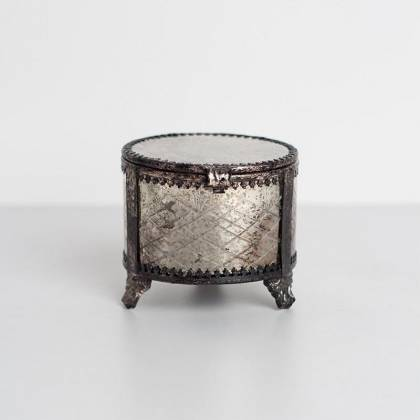 Jasmine Aimar glass container candle