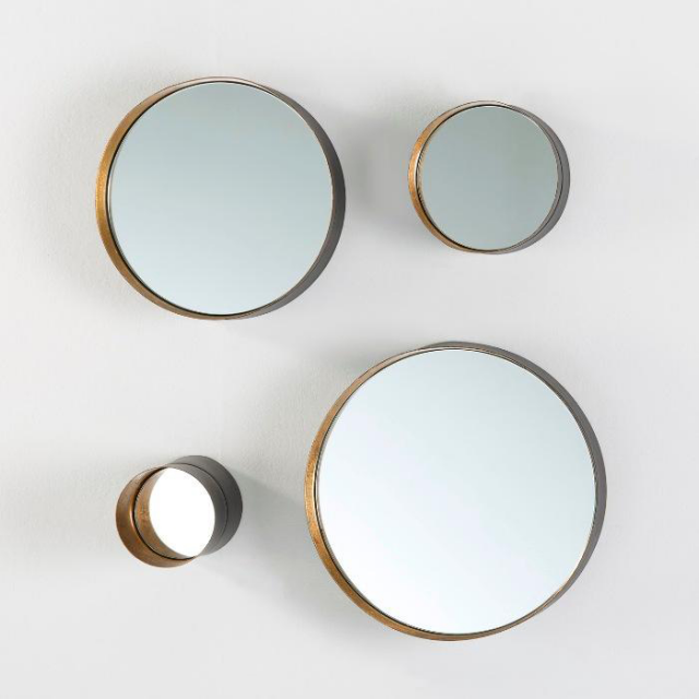 Melk round mirrors Set