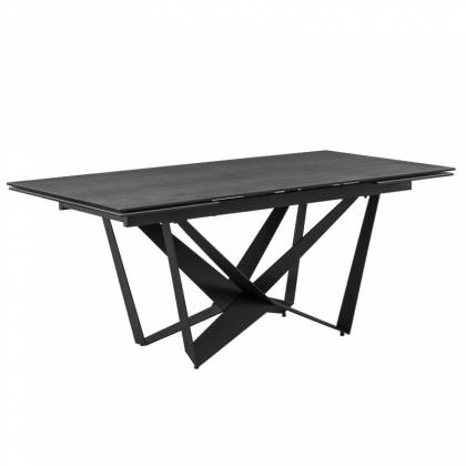 Table ext. ISIA 180 Anthracite / Noir
