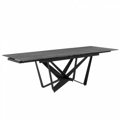 Table ext. ISIA 180 Anthracite / Black