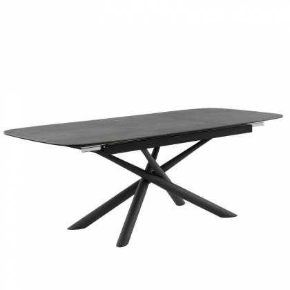 Table ext. NESS Anthracite / Noir