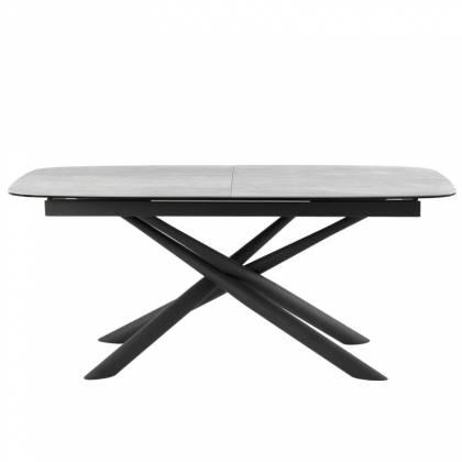Table ext. NESS 180 Gray / Black