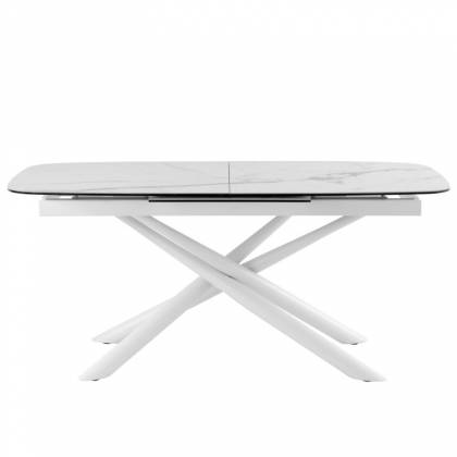 Table ext. NESS 180 Marble / White