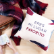 """Eres mi lugar favorito"" Cushion"