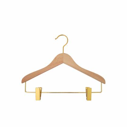 Children's clothes hanger with clips HOMI (by 5)
