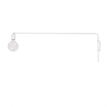 Angle Wall lamp White