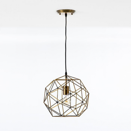 Hexagon Deckenlampe