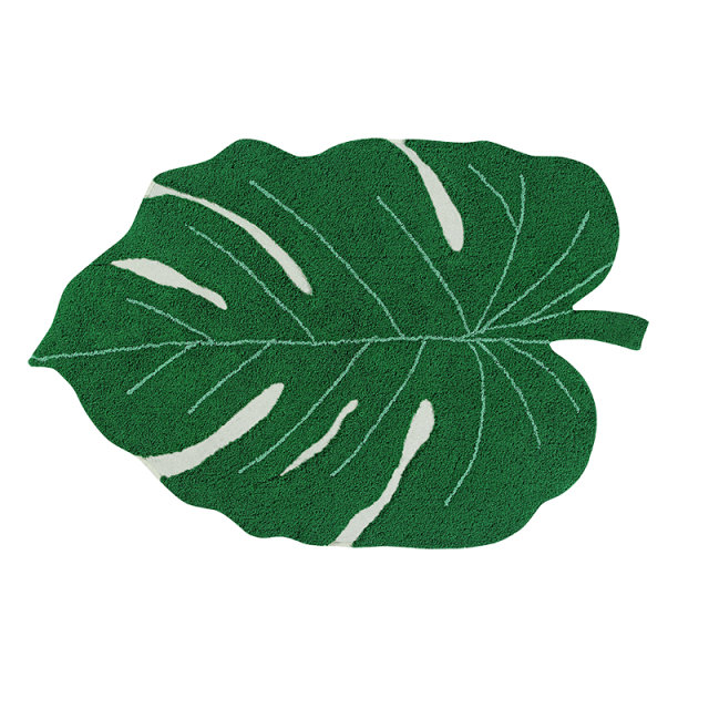 Alfombra Lavable Monstera Leaf