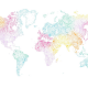 Papel Pintado World Map