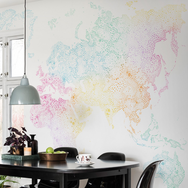 World map wallpaper sandberg world map wallpaper gumiabroncs