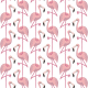 Papel Pintado Flamingo