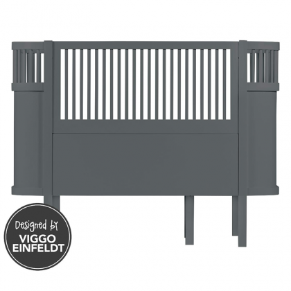 Kili Crib-Bed Grey