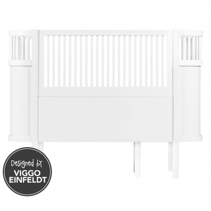 Kili Crib-Bed White
