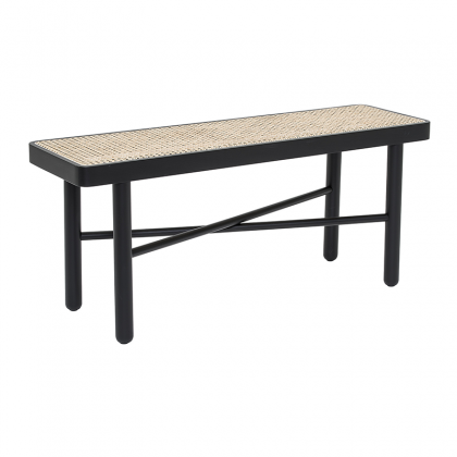 Luna black bench