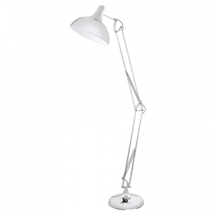 Chrome Aris Floor Lamp -