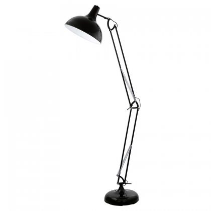 Black Aris Floor Lamp