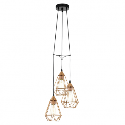 Copper Diana pendant lamp