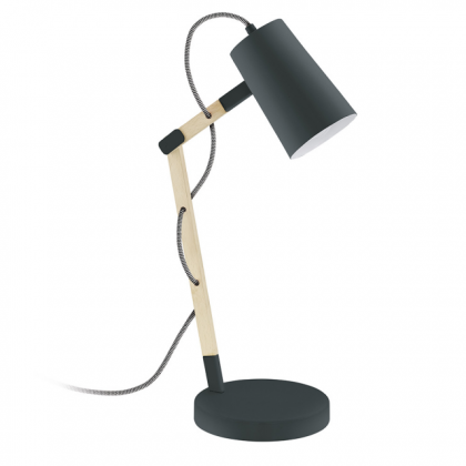 Black Scandi Table Lamp