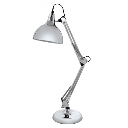 Aris Table Lamp - chrome