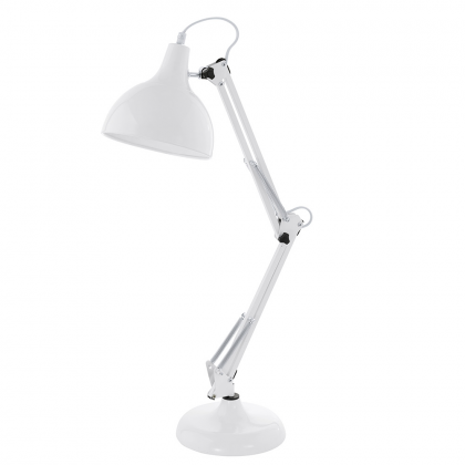 Aris Table Lamp - white