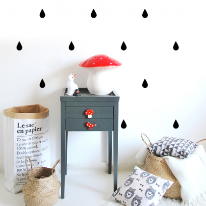 Drops Wall sticker