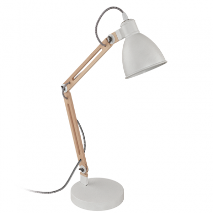 Lampe de table Blumi blanc