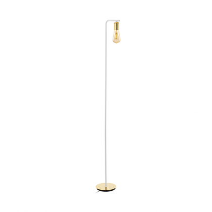 Meri gold floor lamp
