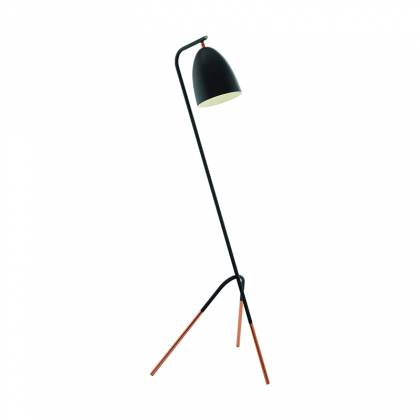 Brest black floor lamp
