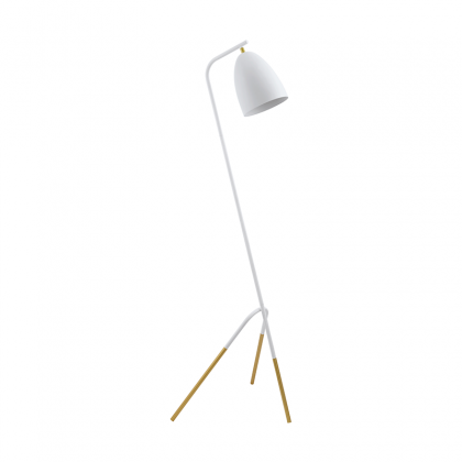 Brest white floor lamp