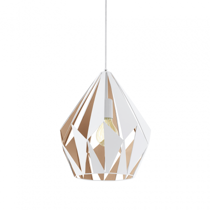 Carlton pendant Lamp white