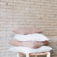 Nude Linen Cushion