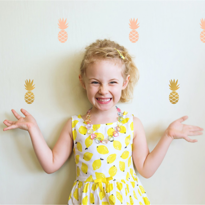 Pineapple wall sticker