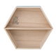 Hexagon Shelf blue