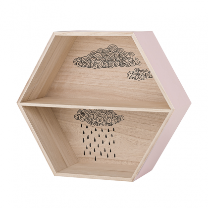 Hexagon Shelf pink
