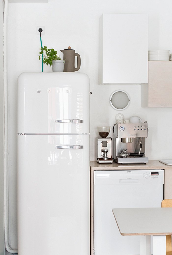 nevera smeg white inuk home